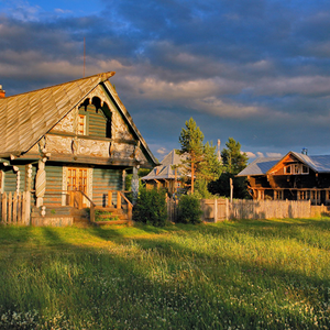 Mandrogui (village de Verkhnie Mandrogui), croisière Saint-Pétersbourg - Moscou