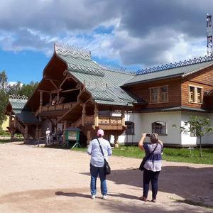 Croisières 5* Moscou-Saint-Pétersbourg, jour 5 - village de Verkhnie Mandrogui