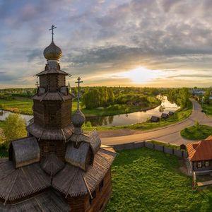 la ville de Souzdal, l'anneau d'Or de Russie