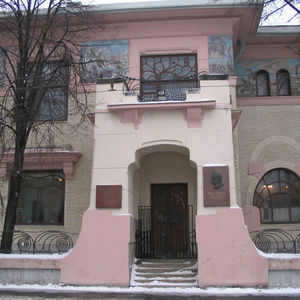Ryabushkinsky Mansion in Moscow, designed by Fyodor Schechtel