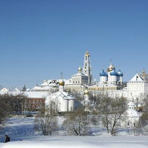 Le monastère de la Trinité Saint-Serge à Serguiev Possad