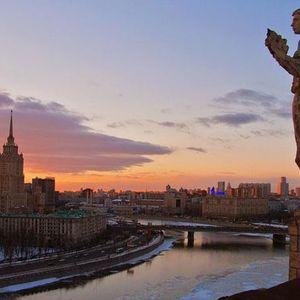 Voyage à Moscou, tour panoramique