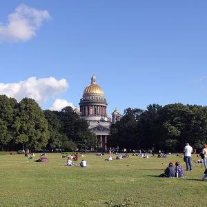 Catedral de San Isaac en San Petersburgo