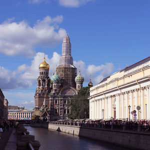 Cathédrale du Saint-Saveur-sur-le-Sang-versé de Saint-Pétersbourg