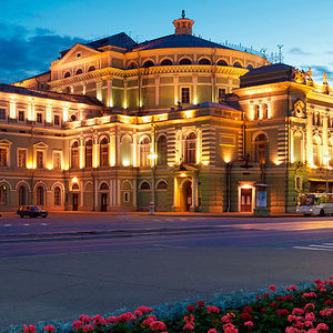 Teatro Mariinski en San Petersburgo