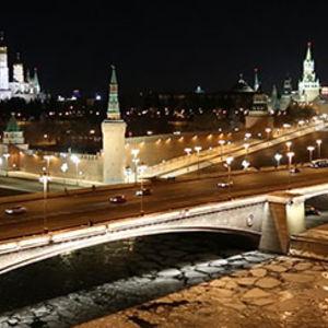 Moscou la nuit - promenade avec un guide francophone