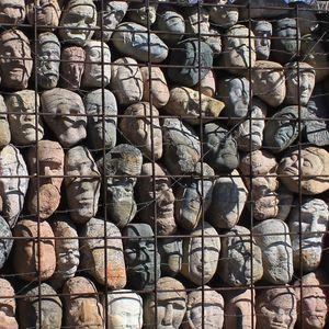 Muséon (le Parc des arts) - le monumуnt aux victimes de repressions
