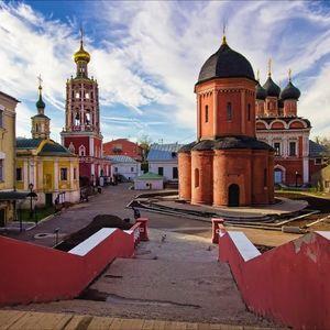 Monasterio Vysoko-Petrovski (Alto de San Pedro) en Moscú