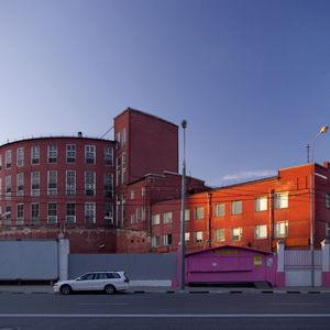 L'usine de Panification de Zotov à Moscou