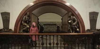 Visite guidée du métro de Moscou en français