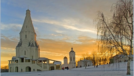 L'Église de l'Ascension à Kolomenskoye
