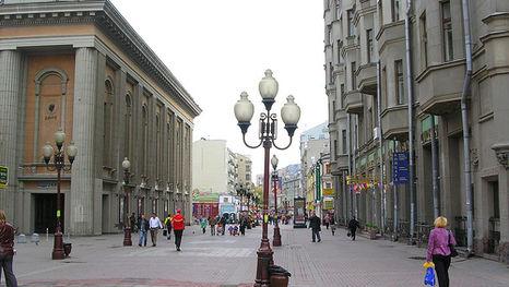 L'Arbat de Moscou