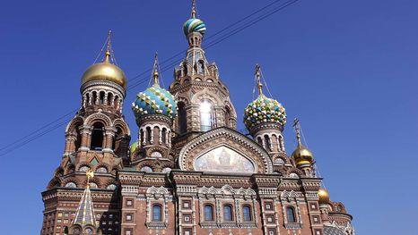 Cathédrale Saint-Sauveur-sur-le-Sang-Versé à Saint-Pétersbourg: une visite guidée en français