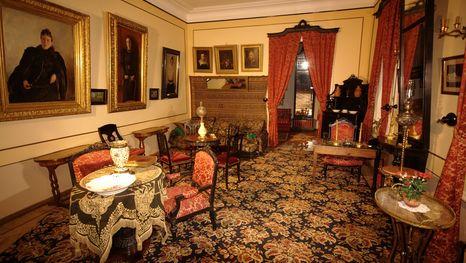 Interiores de la casa de León Tolstoy