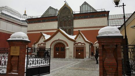 Guided tour to the Tretyakov Gallery in Moscow
