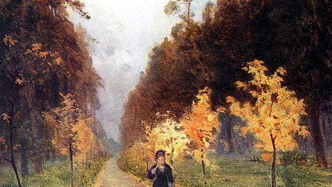 Исаак Левитан, Осенний день, 1879 г.