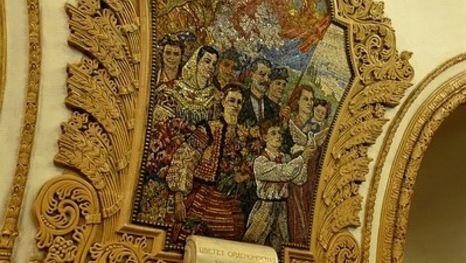 Estación Kíevskaya, metro de Moscú - excursión con guía de Moscú en español
