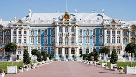 le palais de Catherine - la ville de Pouchkine