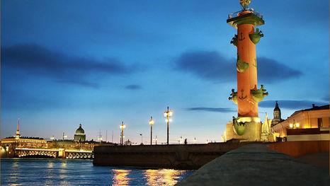 Les Nuits blanches de Saint-Pétersbourg - balade nocturne