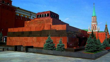 Mausolée de Lenine sur la Place Rouge
