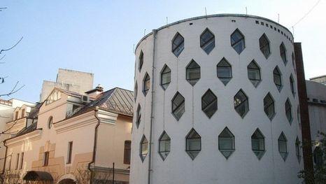 La casa-colmena del arquitecto Mélnikov en el callejón Krivoarbátski, Moscú