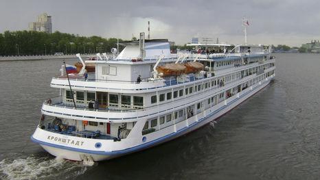 Le bateau Kronstadt de croisières Moscou - Saint-Pétersbourg
