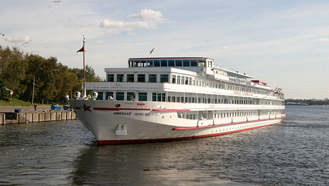 Le bateau Nikolaï Tchernychevski