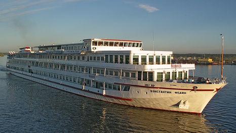 Le bateau Constantin Fedine: croisière sur la Volga entre Moscou et Saint-Pétersbourg
