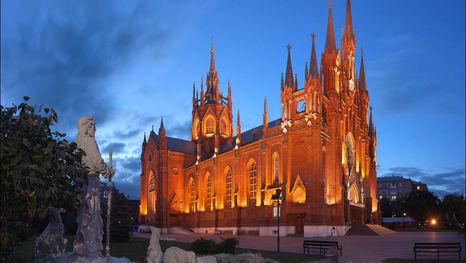La cathédrale de l'Immaculée-Conception, Moscou