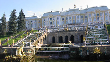 Le Grand Palais de Peterhof
