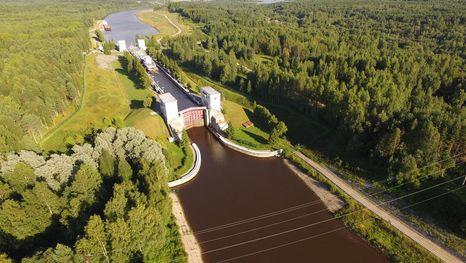 Vía navegable Volga-Báltico