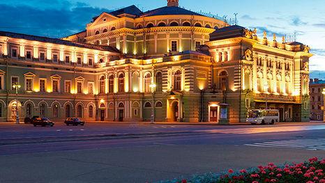 Mariinsky Theater in Saint Petersburg, historical building (main scene)